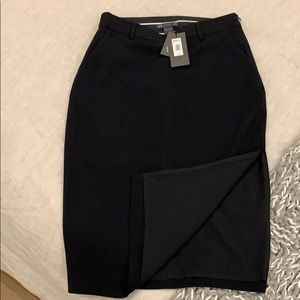 🖤 New Armani Exchange black skirt sz 4 ( or 2)